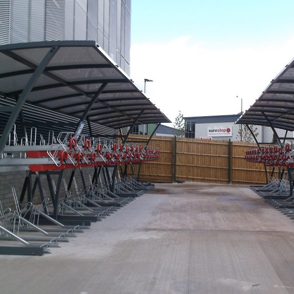 Brighton Two Tier Bike Shelter