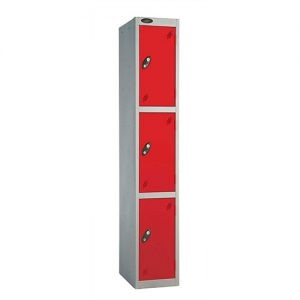 Tall Three Door locker