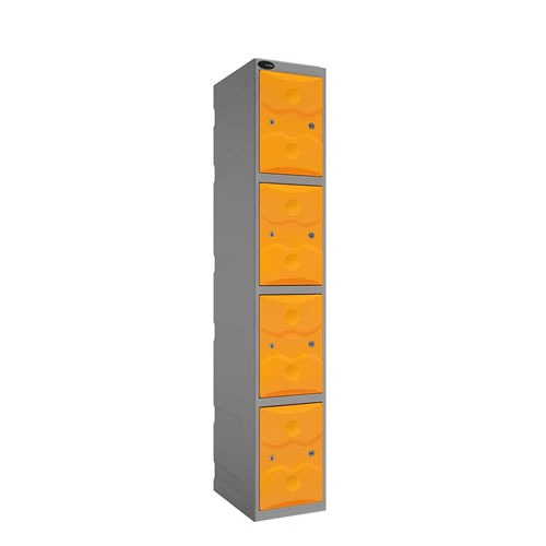 Four Door Plastic locker