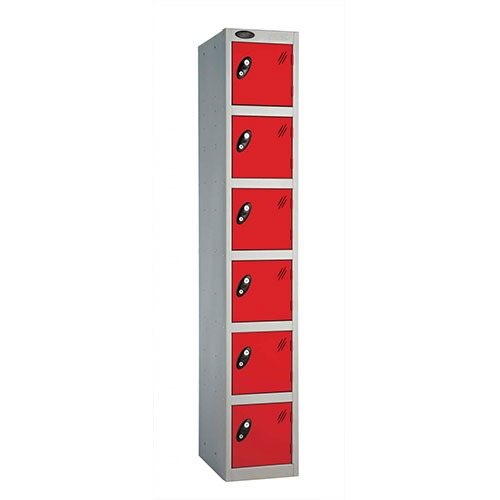 Tall Six Door Locker