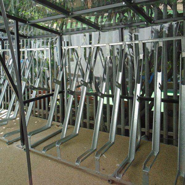 Gatwick Secure Semi Vertical Rack
