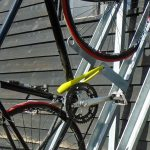 Gatwick Secure Semi-Vertical Bike Rack