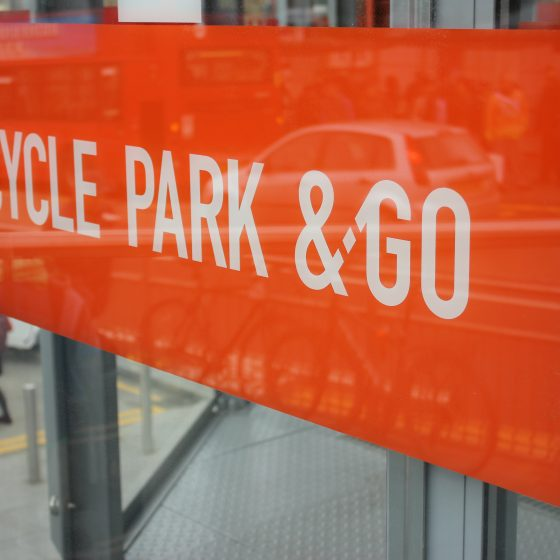 Leyton Cycle Hub - THE FIRST SECURED BY DESIGN CYCLE HUB