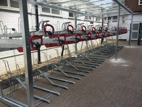 CYCLE STORAGE FOR UNIVERSITIES