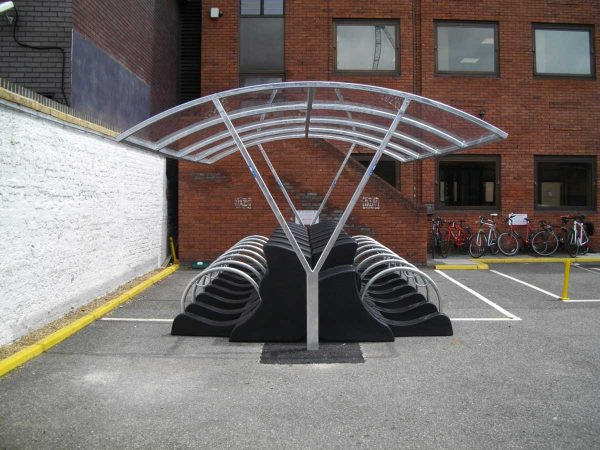 Newcastle Cycle Shelter
