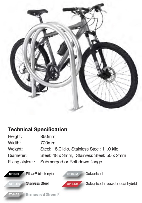 Big Loop Bike Stand