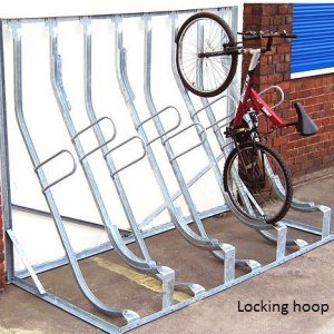 Sevenoaks Semi Vertical Bike Rack Secure
