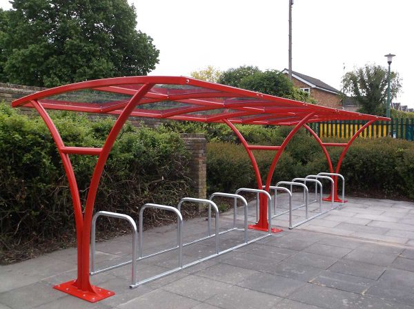 Harrogate Cycle shelter