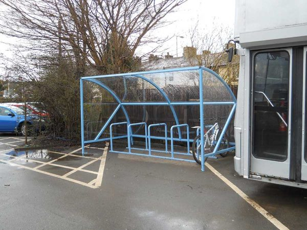 Canterbury Bike Shelter