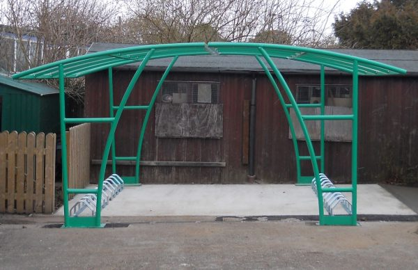 London bike shelter