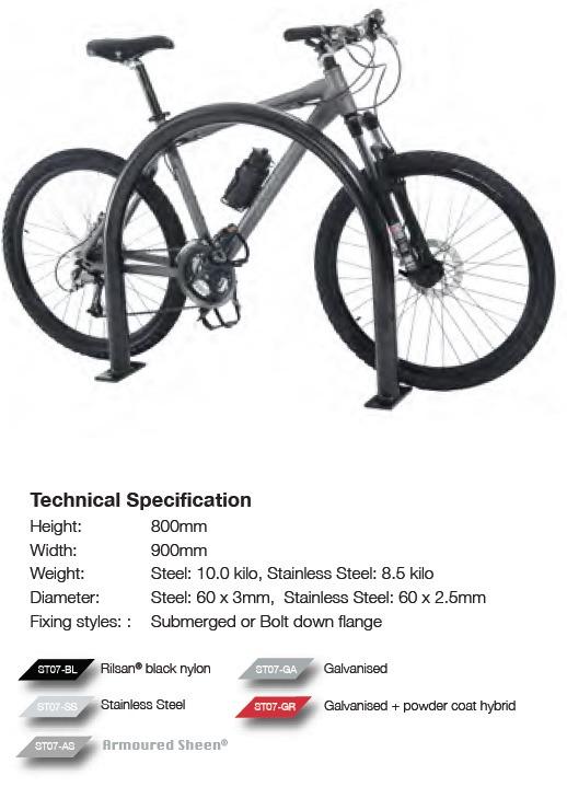 Heavy Hoop Bike Stand