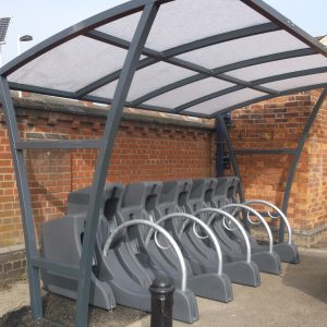 Junior Brighton cycle shelter