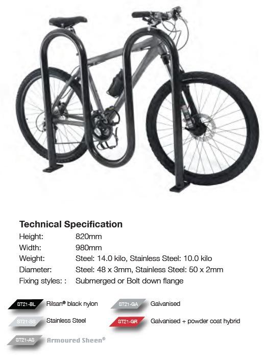 M-Hoop Bike Stand