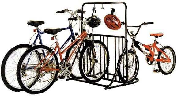 Multi-purpose 6 bike rack