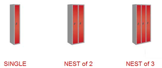 Tall Single Door locker-