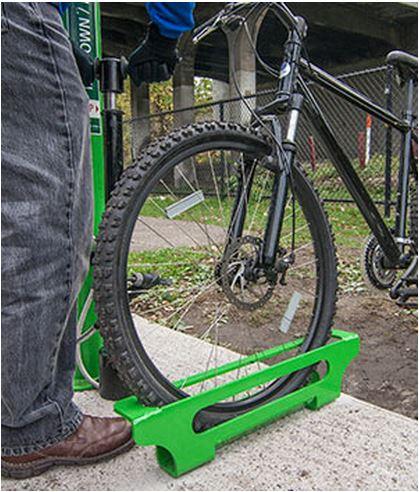 Public Bike Pump Stop