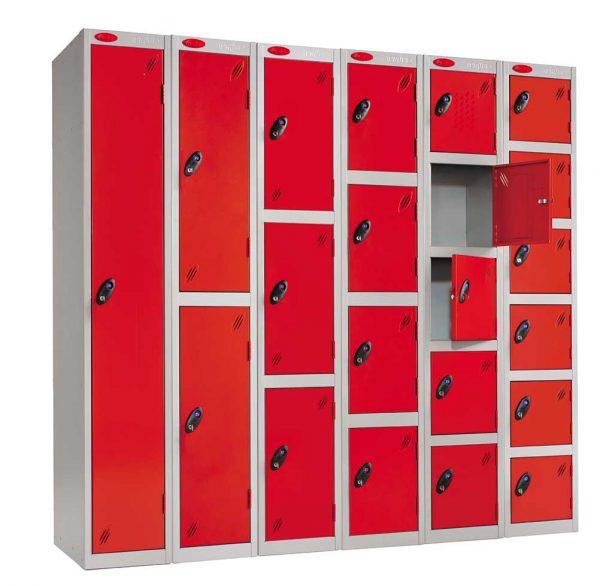 Tall Six Door locker