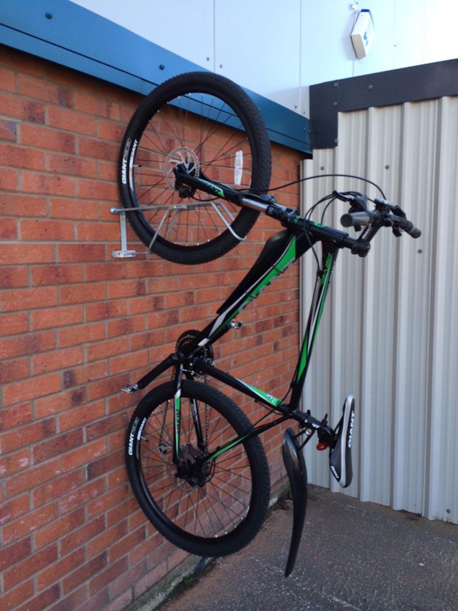 Smart Bike Lock >> Bike Wall Hanger | Cyclepods Ltd
