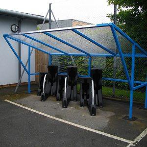 Manchester Bike Shelter